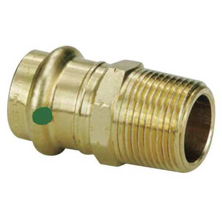 Adapter, 3/4 x 3/4, Low Lead Bronze