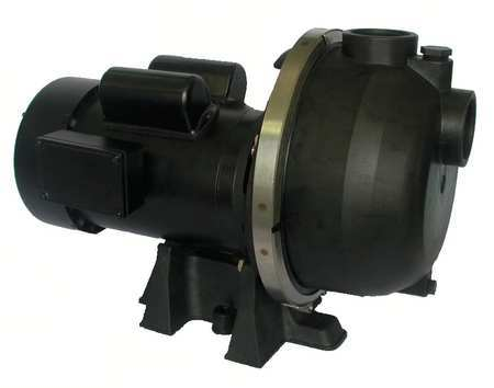 Pump, Centrifugal, 2 HP,  1 Ph