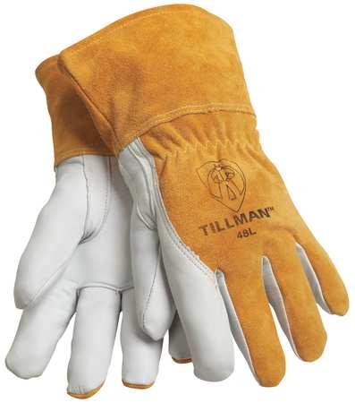 Welding Gloves, MIG/TIG, XL, 13 In. L, PR