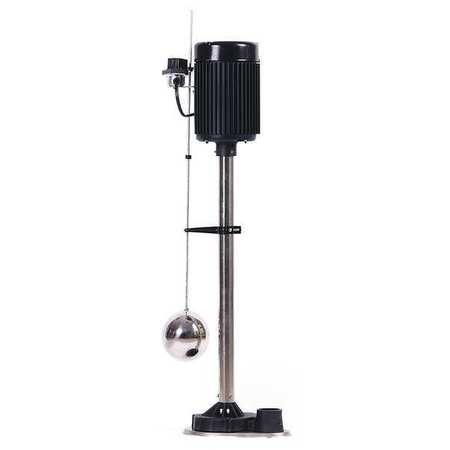 Upright Sump Pump,  1/3 HP