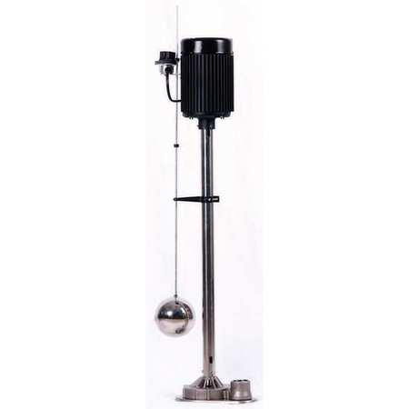 Upright Sump Pump,  1/3 HP