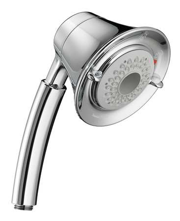 Hand Held Shower,  4-3/4 In Dia,  2.0 GPM