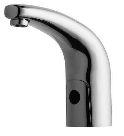 Rigid Bathroom Faucet,  Chrome Plated,  1 Hole ,  ADA Compliant