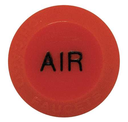 Button,  Air,  Plastic,  For Use with 204-4-Arm Handles