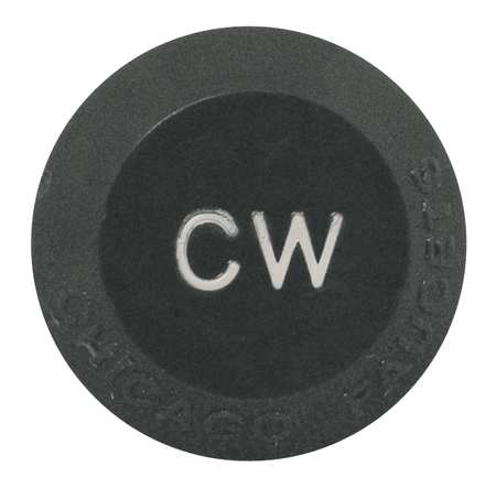 "Cold Water Button,  7/16"" x 3/4"",  Plastic"