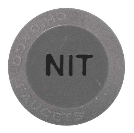 Button,  Nitrogen,   For Use With 204-4-Arm Handles