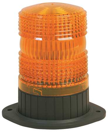 Strobe Light, Perm/Pipe, 2-7/8 In, Amber