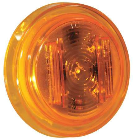 Clearance/Marker, 2.5In., PC Rated, LED, Ylw