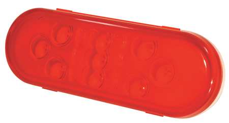 Stop/Tail/Turn Lamp, 9-Diode LED, Red