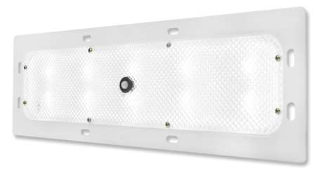 Dome Lamp, Recessed Mount, LED, L 18-1/4 In