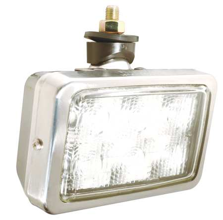 Work Lamp, Flood, LED, Length 6-5/8 In.