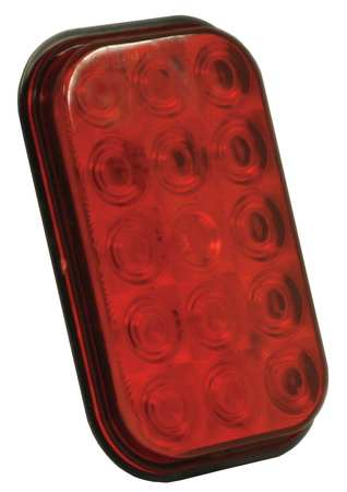 Stop/Tail/Turn Lamp, 15-Diode, Red