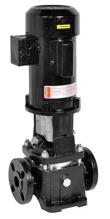 Booster Pump,  3/4 HP, 1 Ph,  3 Stages