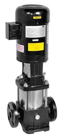Booster Pump,  1 1/2 HP, 3 Ph,  8 Stages