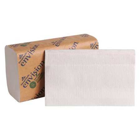 White Paper Towels,  Single Fold,   16 Pack,  250 Sheets/ Pack