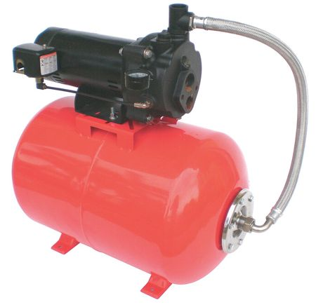Convertible Jet Pump Sys, 1/2HP, 115/230V