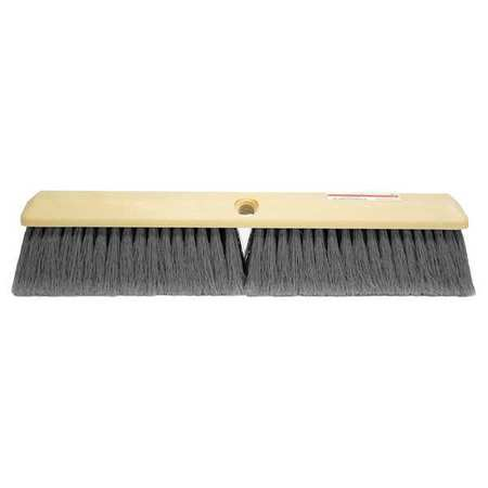 TOUGH GUY Gray Polystyrene Push Broom