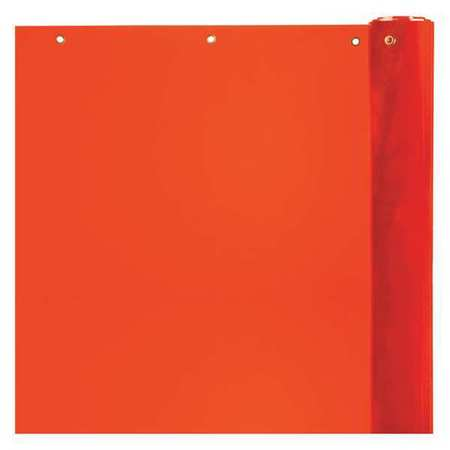 Welding Curtain, 75 ft. W, 5 ft., Orange