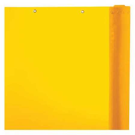Welding Curtain, 75 ft. W, 5 ft., Yellow
