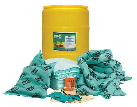 Spill Kit,  Chem/Hazmat,  Yellow