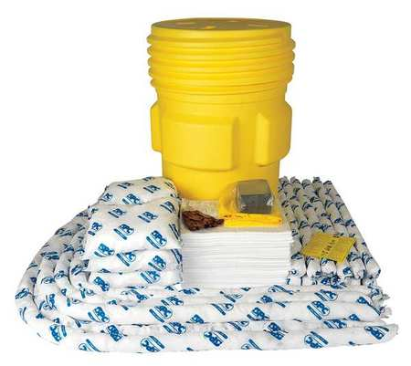 Spill Kit,  Oil-Based Liquids,  Yellow