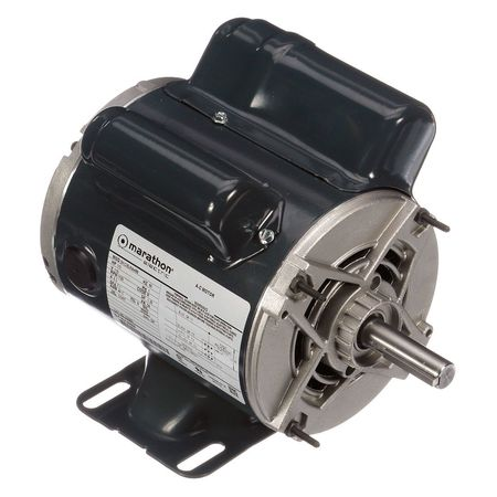 Instant Rev Motor, 1/3 HP, 1725 RPM, 115 V