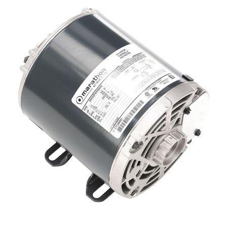 Pump Motor, Split Ph, 1/3 HP, 1725, 115V, 48Y