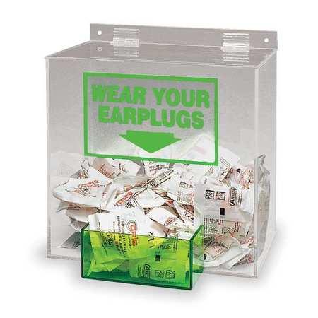 Ear Plug Dispenser, Univ, Holds 200 PR