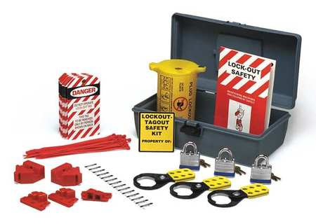 PortableLockout Kit, Filled, Electrical, 47