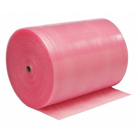 """Anti-Static Bubble Roll 48"""" x 750 ft.,  3/16"""" Thickness,  Pink"""