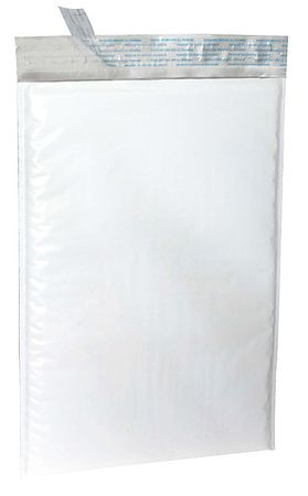 Mailer Envelope, 8-1/2 In. W, White, PK100