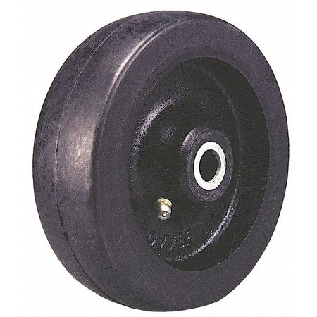 Caster Wheel, Rubber, 8 in., 1175 lb.