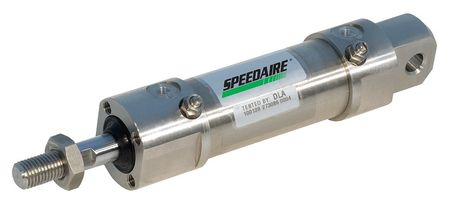 80mm Bore Round Double Acting Air Cylinder 150mm Stroke