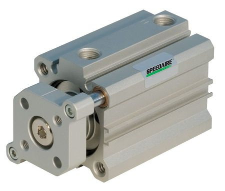 Air Cylinder, Threaded, 81.5mm, Aluminum