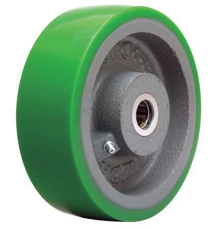 Caster Wheel, Polyurethane, 6 in., 1200 lb.