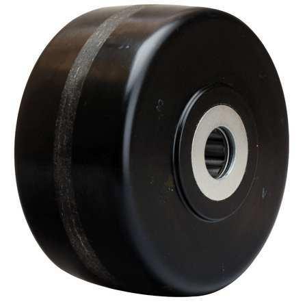 Caster Wheel, Phenolic, 6 in., 2000 lb.