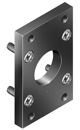 Flange Bracket, For 63mm Bore, Alum