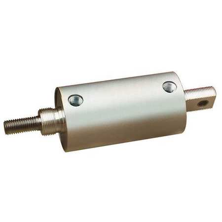 "1-1/8"" Bore Round Double Acting Air Cylinder 8"" Stroke"