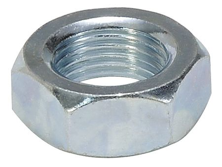 Cylinder Mounting Nut, 1-1/8 In Bore, Alum