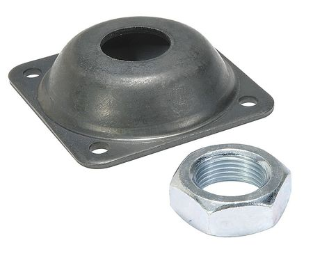Flange Bracket, For 2-1/2,  3 In Bore, Alum