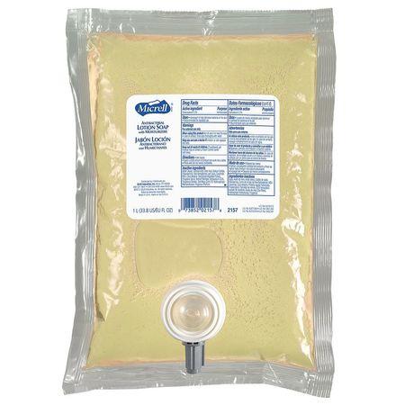 MICRELLAntibacterial Soap Refill, Lotion, 85oz, PK8