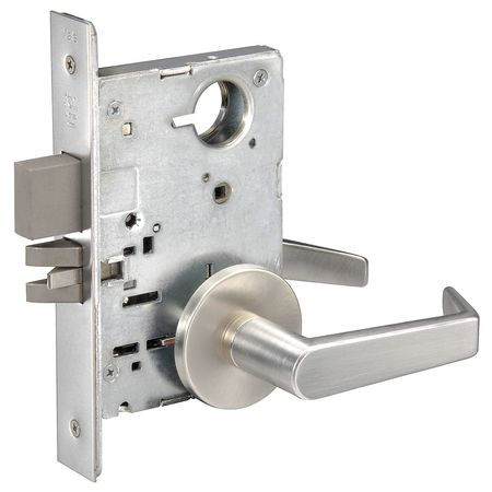 Lever Lockset, Mechanical, Privacy, Grade 1