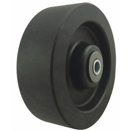 Caster Wheel, Nylon, 6 in., Up to 550 deg F