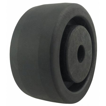 Caster Wheel, Nylon, 3 in., 600 lb.