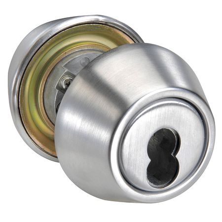 Deadbolt, , Satin Chrome