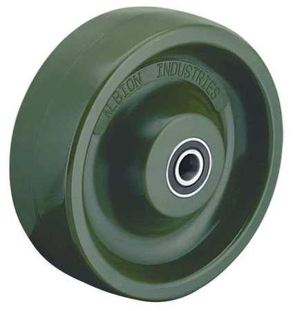 Caster Wheel, Polyurethane, 6 in., 1000 lb.