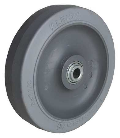 Caster Wheel, 3-1/2 in., 250 lb, 70 Shore A