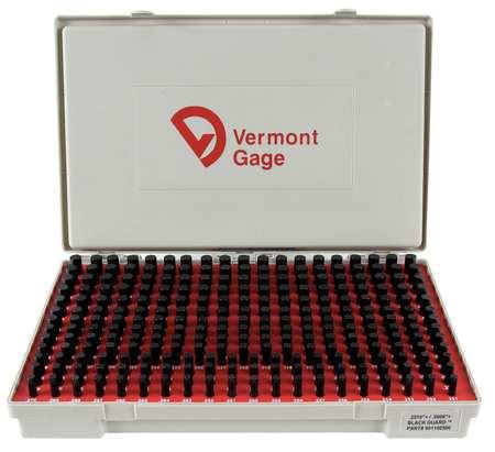 Pin Gage Set, Plus, 0.251-0.500 In, Black