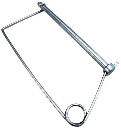 Safety Pin, 3/8 Dia