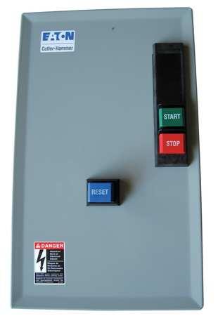 IEC Magnetic Motor Starter, 480VAC, 9-45A